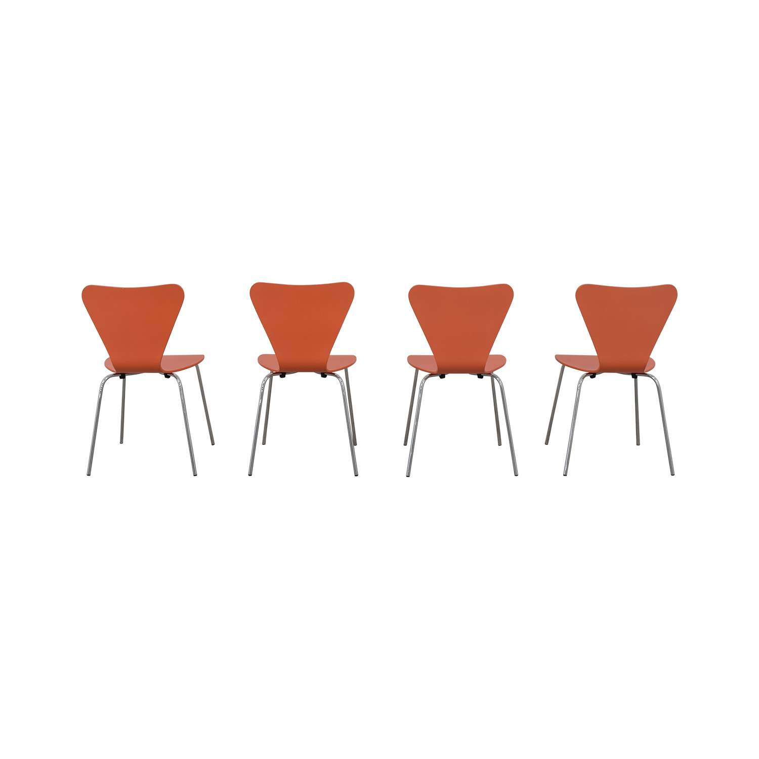 Room & Board Room & Board Orange Chairs second hand