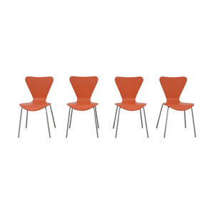 Room & Board Orange Chairs sale