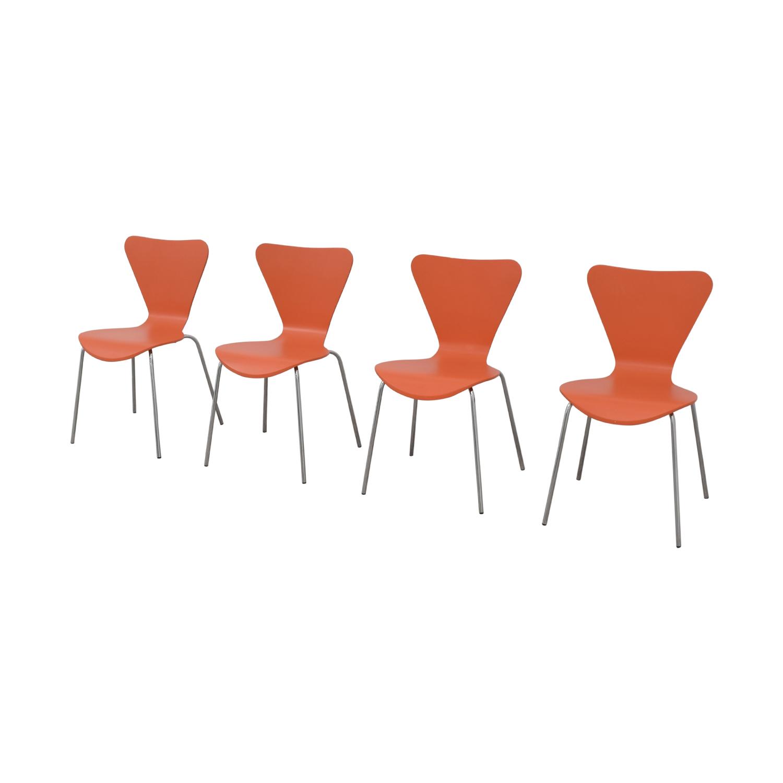 Room & Board Room & Board Orange Chairs on sale