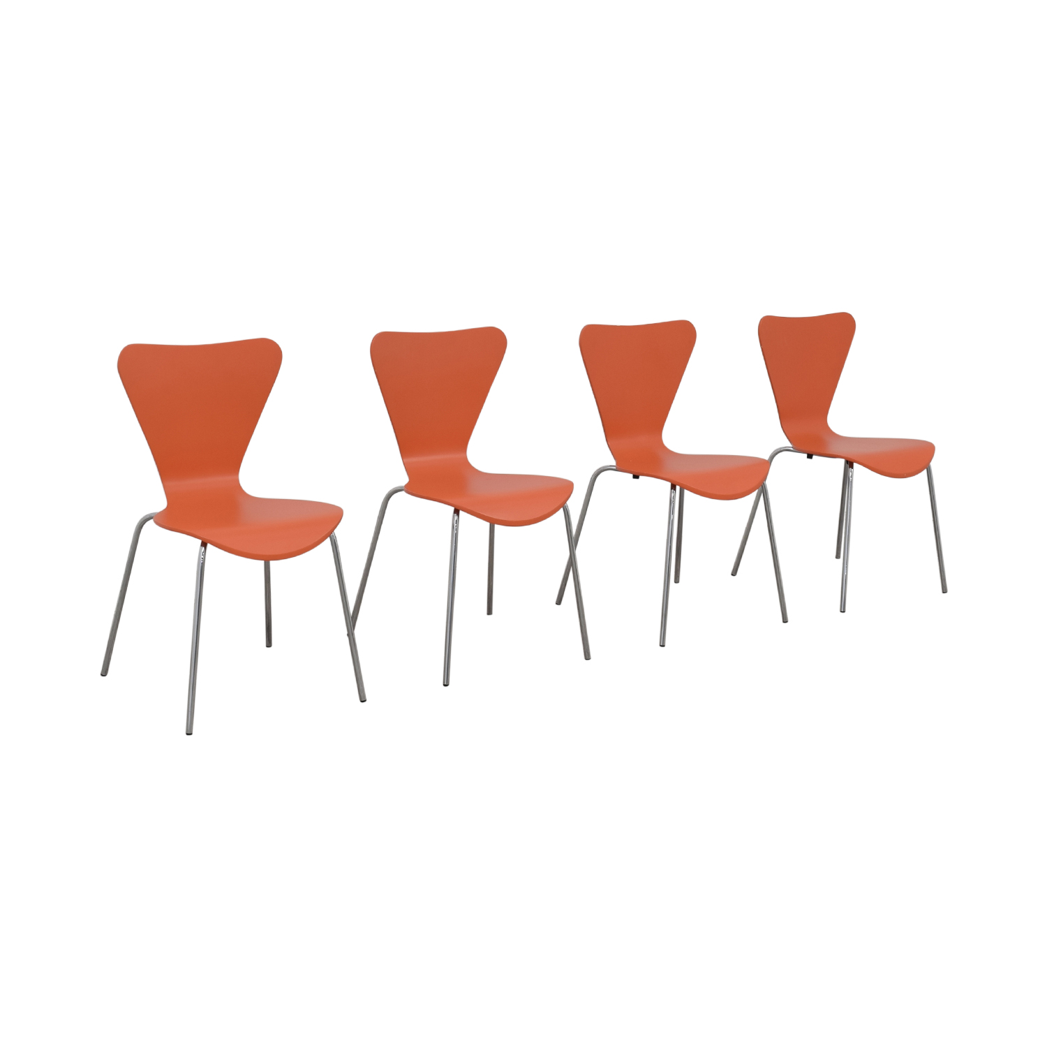 Room & Board Room & Board Orange Chairs coupon