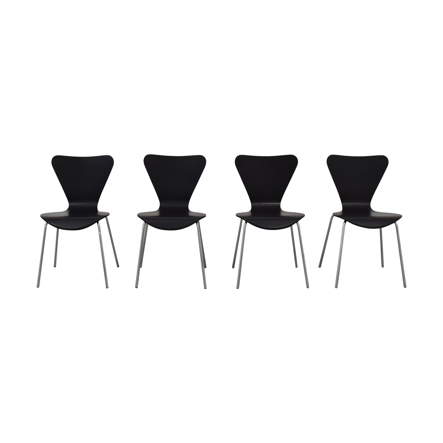 shop Room & Board Black Chairs Room & Board Dining Chairs