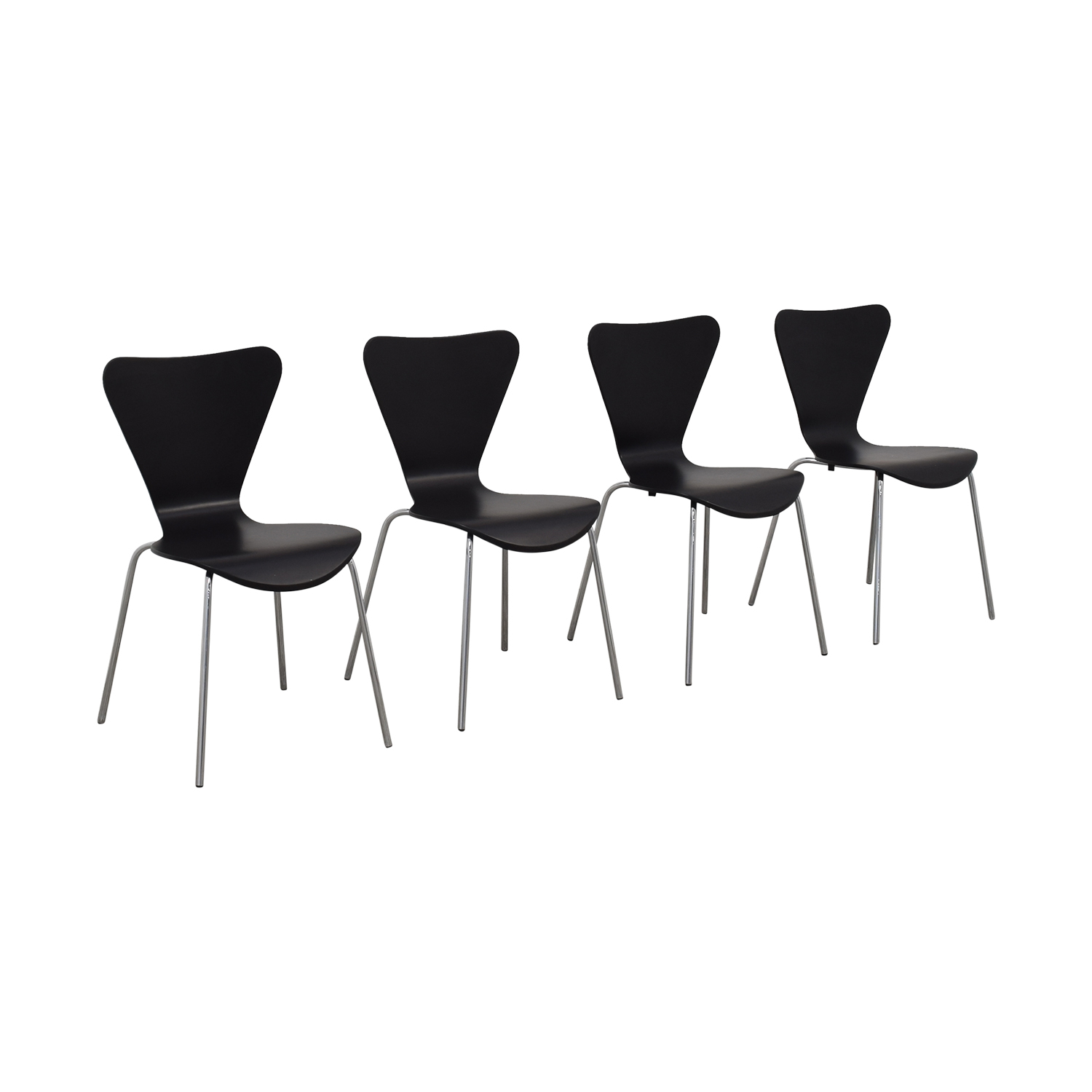 Room & Board Room & Board Black Chairs coupon