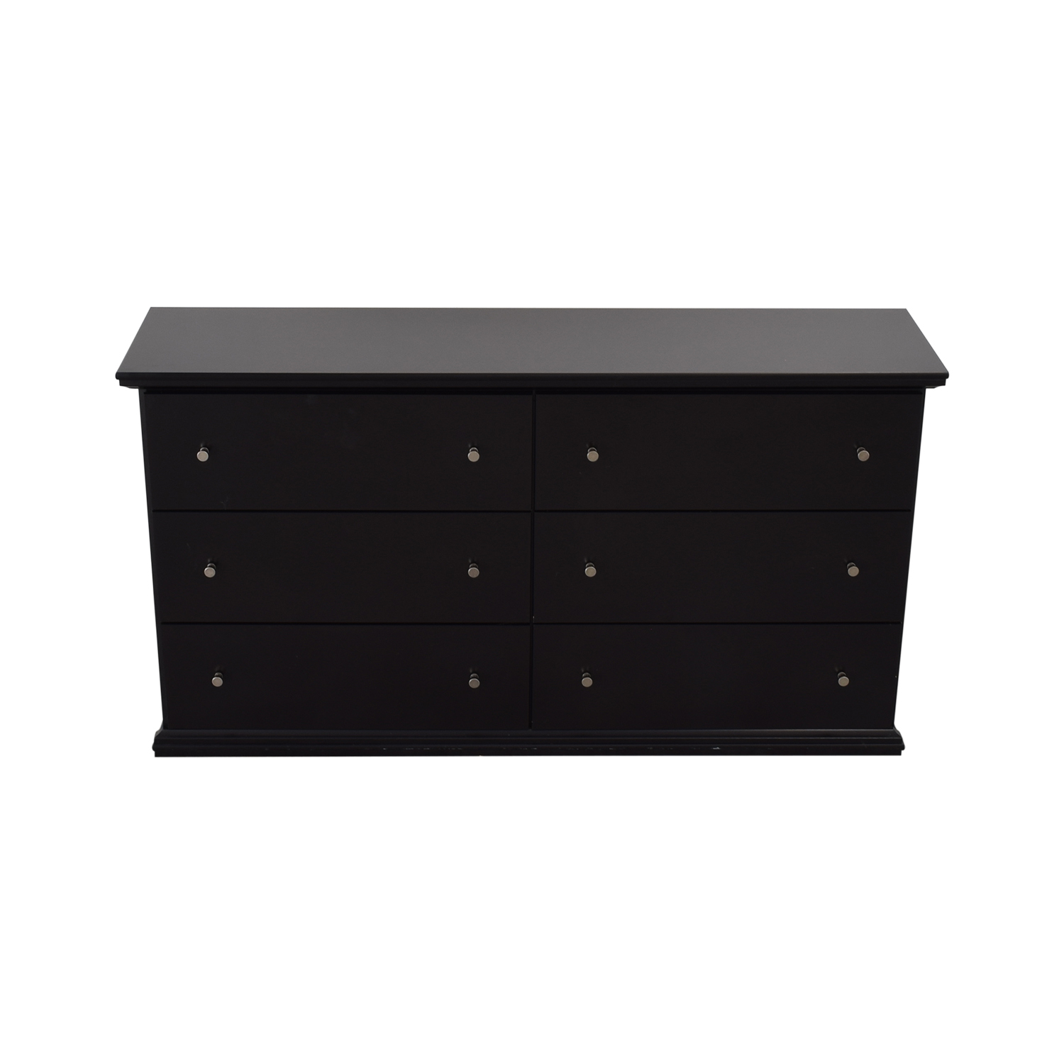 Ashley Furniture Ashley Furniture Black Six-Drawer Dresser