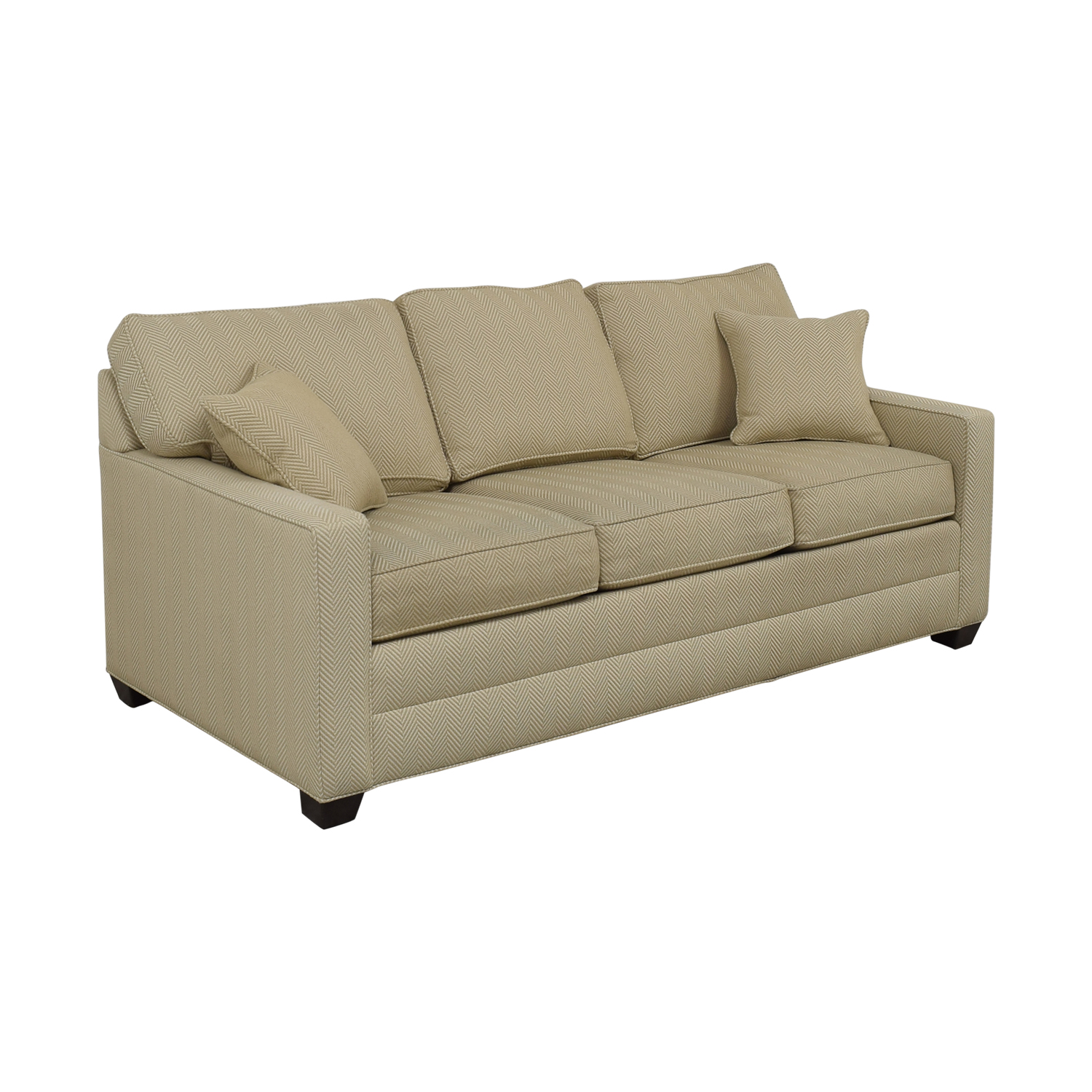 Ethan Allen Ethan Allen Beige Three-Cushion Couch coupon