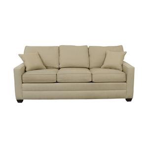 shop Ethan Allen Ethan Allen Beige Three-Cushion Couch online
