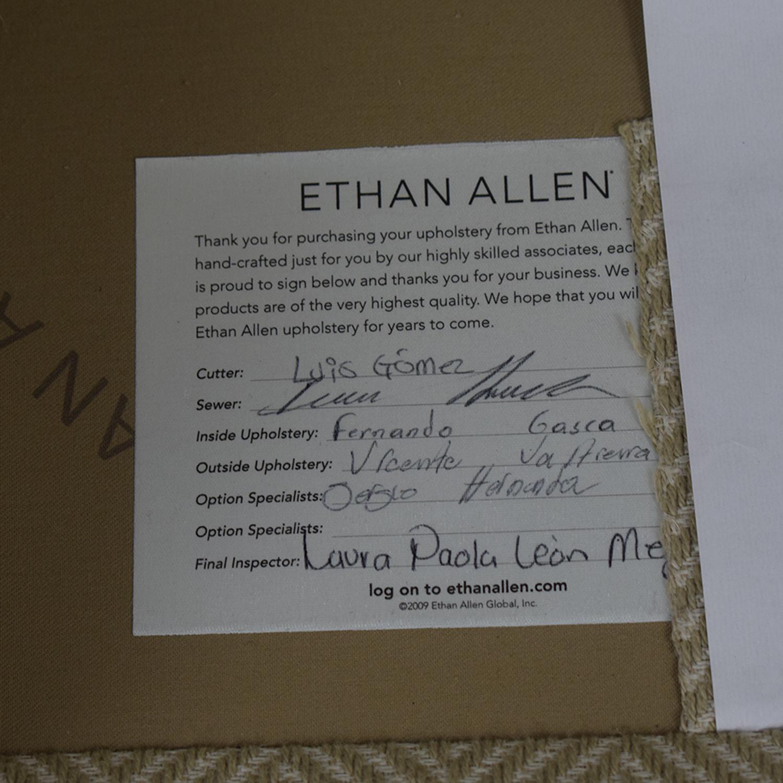 Ethan Allen Ethan Allen Beige Three-Cushion Couch for sale