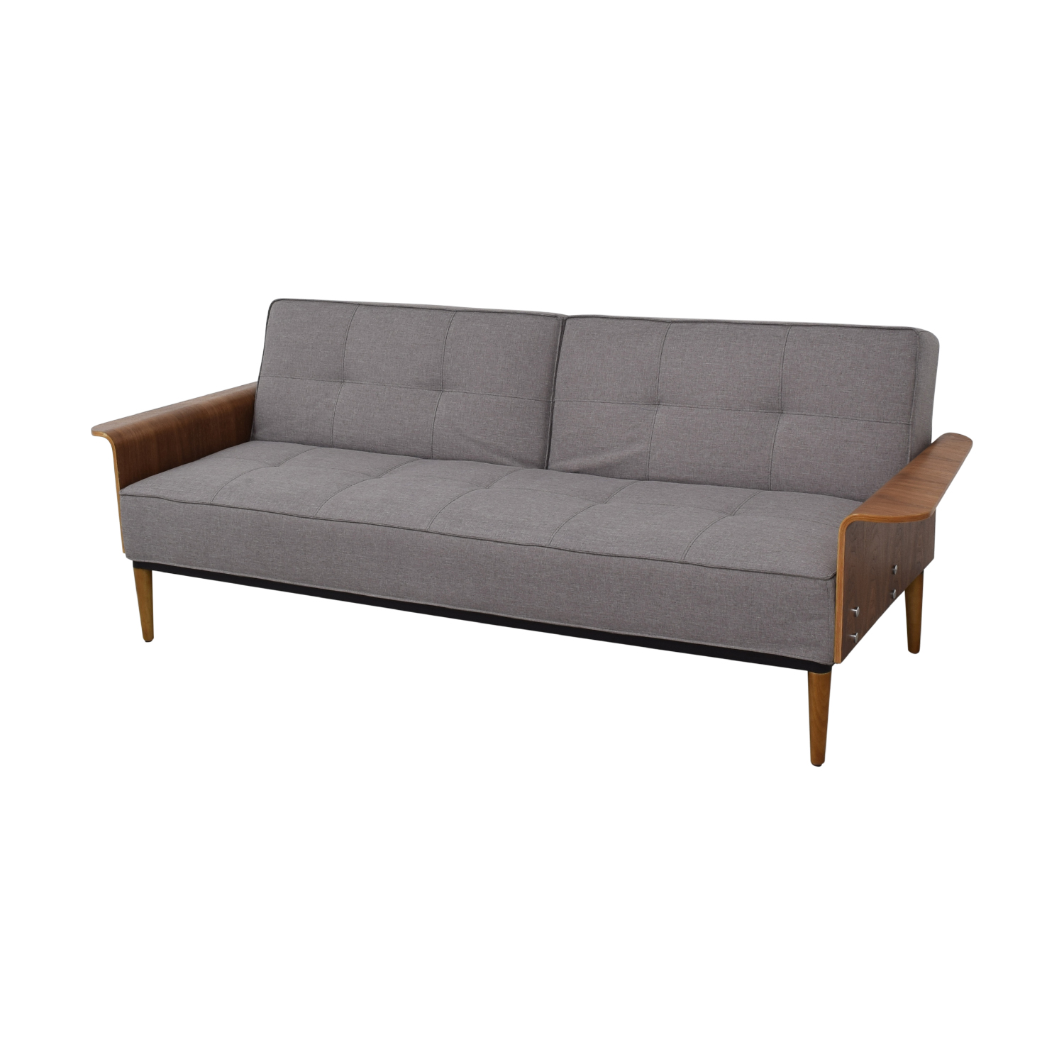 Inmod Inmod Bjorg Grey Tufted Twin Sofa Bed coupon