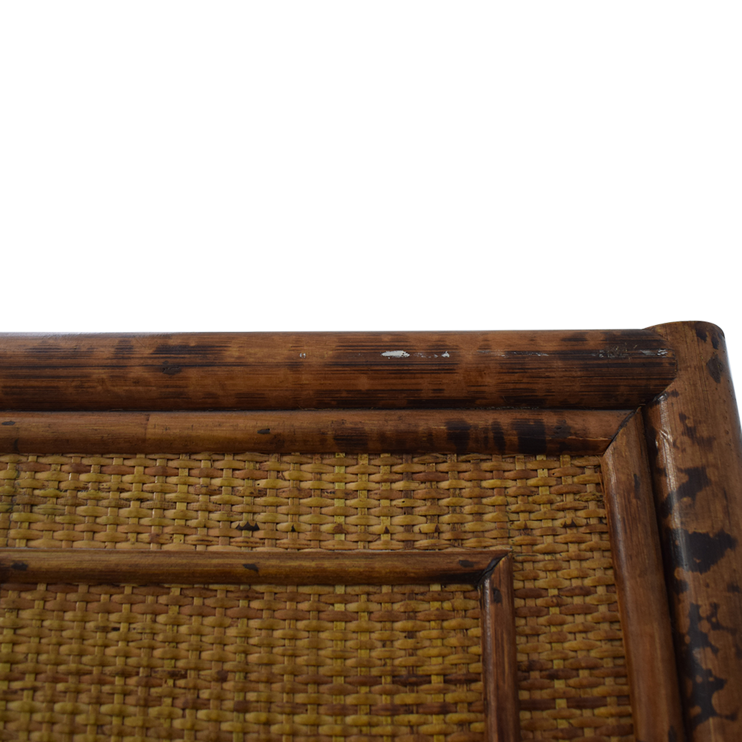 Wicker Four-Drawer Armoire Wardrobes & Armoires