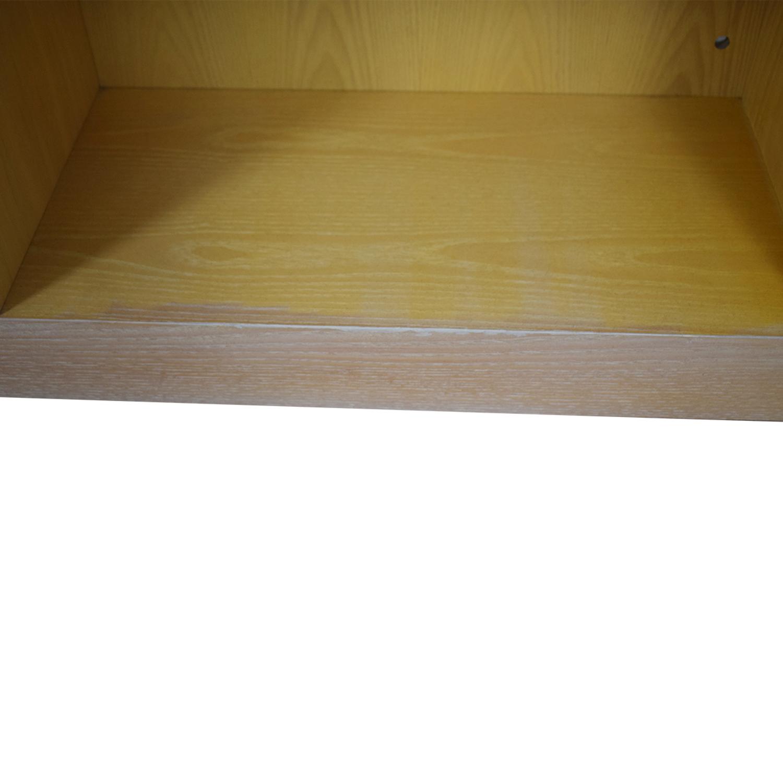 Twelve Shelf Double Bookcase price