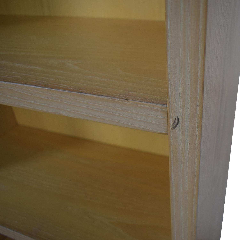 Twelve Shelf Double Bookcase dimensions