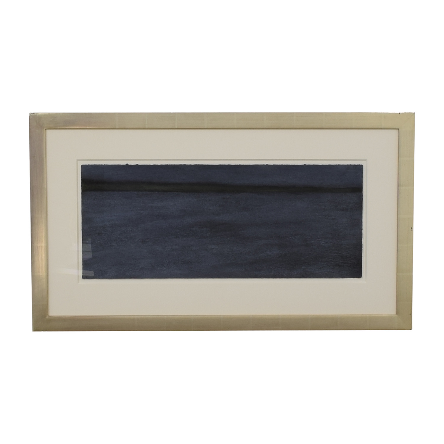 buy Dark Blue Painting in Gold Leaf Frame  Decor