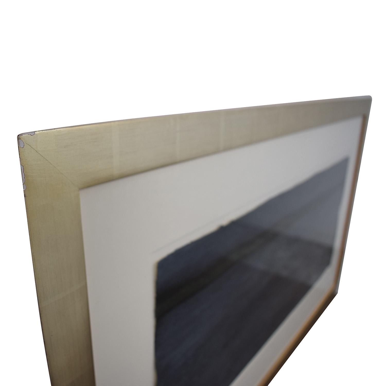 shop  Dark Blue Painting in Gold Leaf Frame online