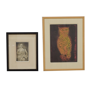 Owl and General Signed Wall Art coupon