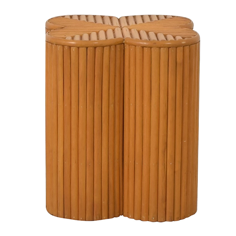 Decorative Wicker End Table on sale