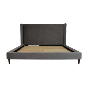 Interior Define Oliver King High Headboard Bed Frame price