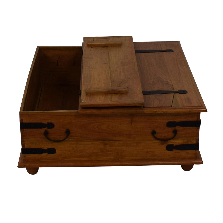 Macy's Macy's Storage Coffee Table for sale