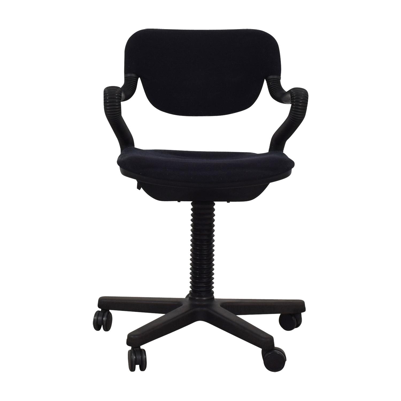 buy  Vintage Black Desk Arm Chair online
