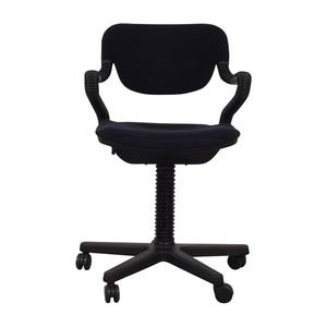 shop  Vintage Black Desk Arm Chair online