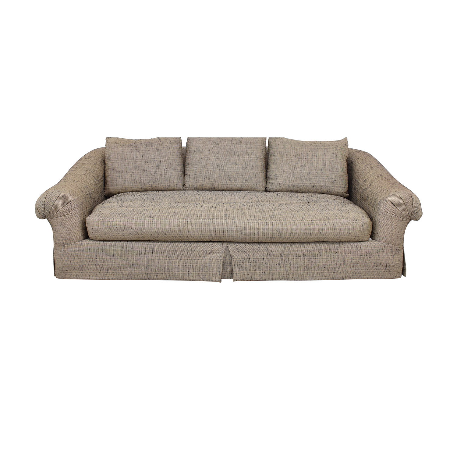 Bernhardt Bernhardt Flair Collection Single Cushion Sofa beige