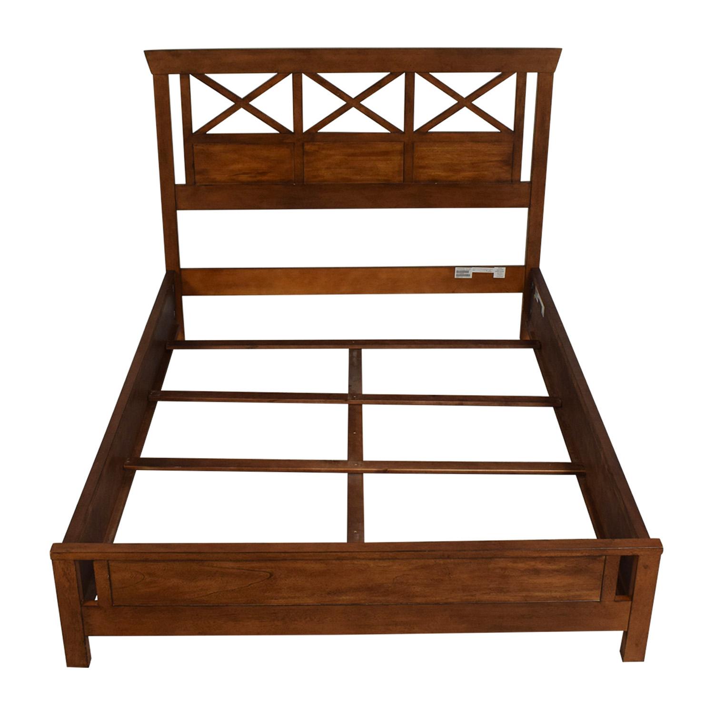 Ethan Allen Ethan Allen Dexter Queen Bed Frame Bed Frames