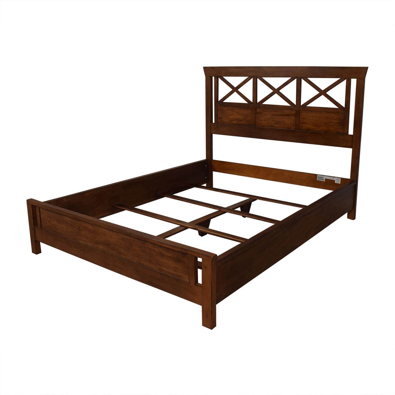 Ethan Allen Dexter Queen Bed Frame sale