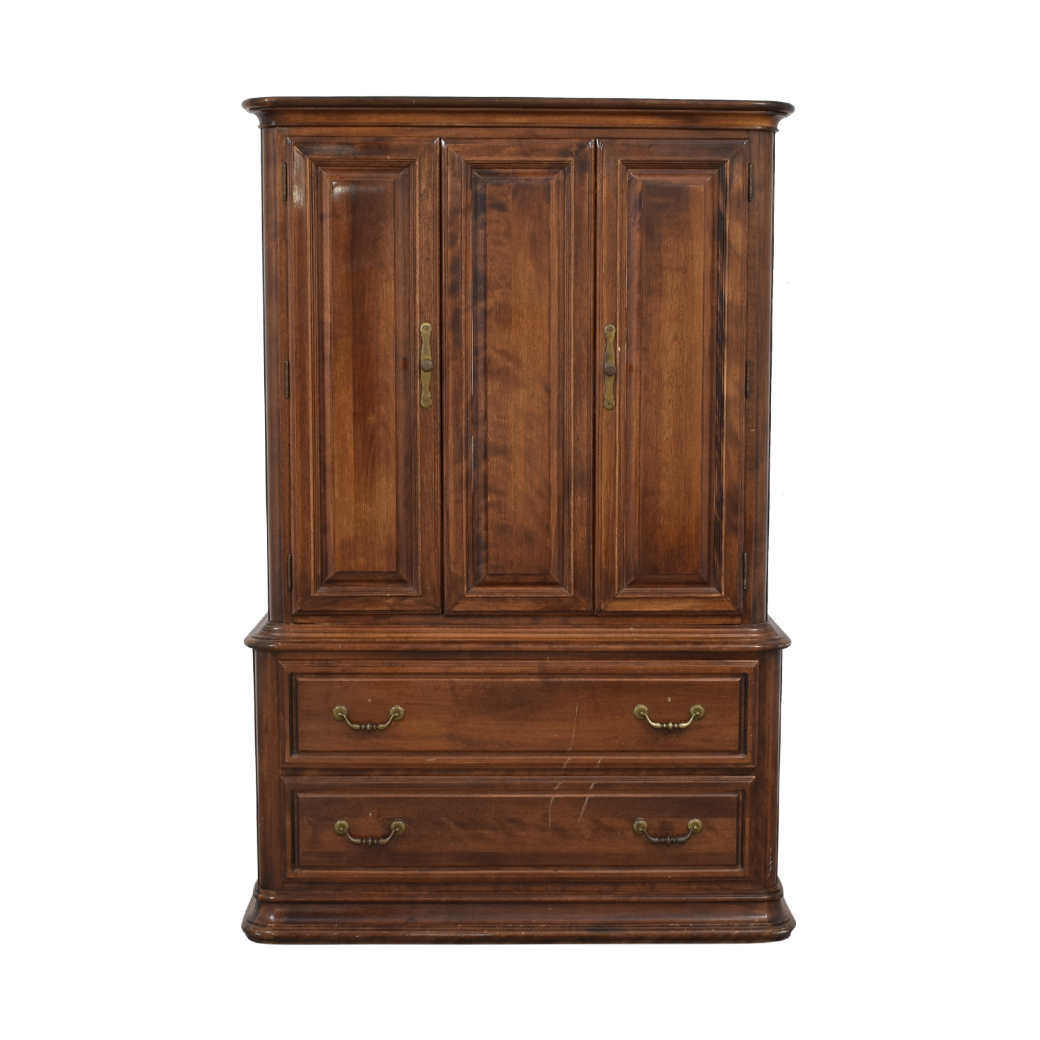 buy Ethan Allen Six-Drawer Clothing Armoire Ethan Allen