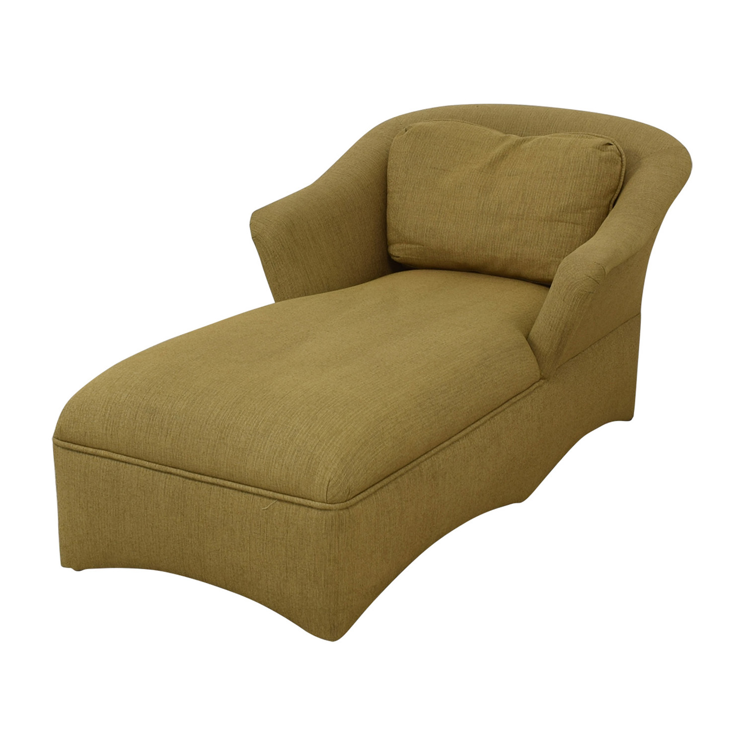 Beige Long Chaise Lounge nyc