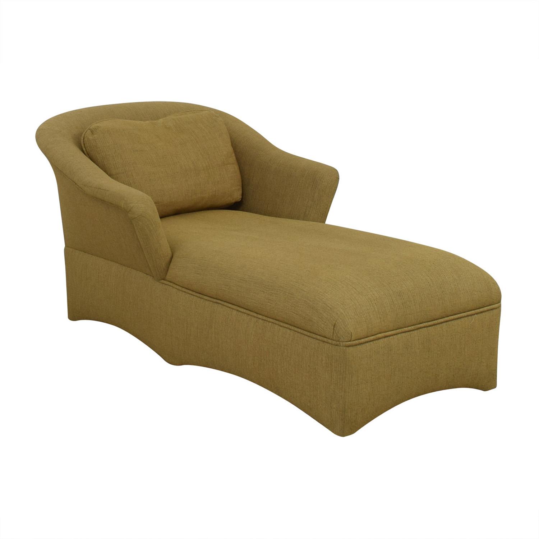 Beige Long Chaise Lounge nj