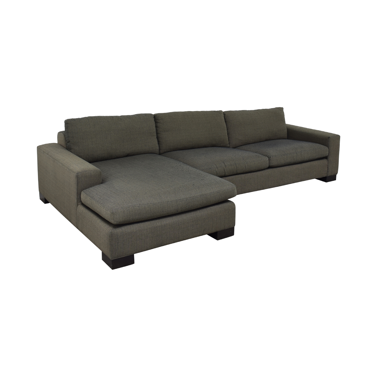 Room & Board Room & Board Brown Chaise Sectional