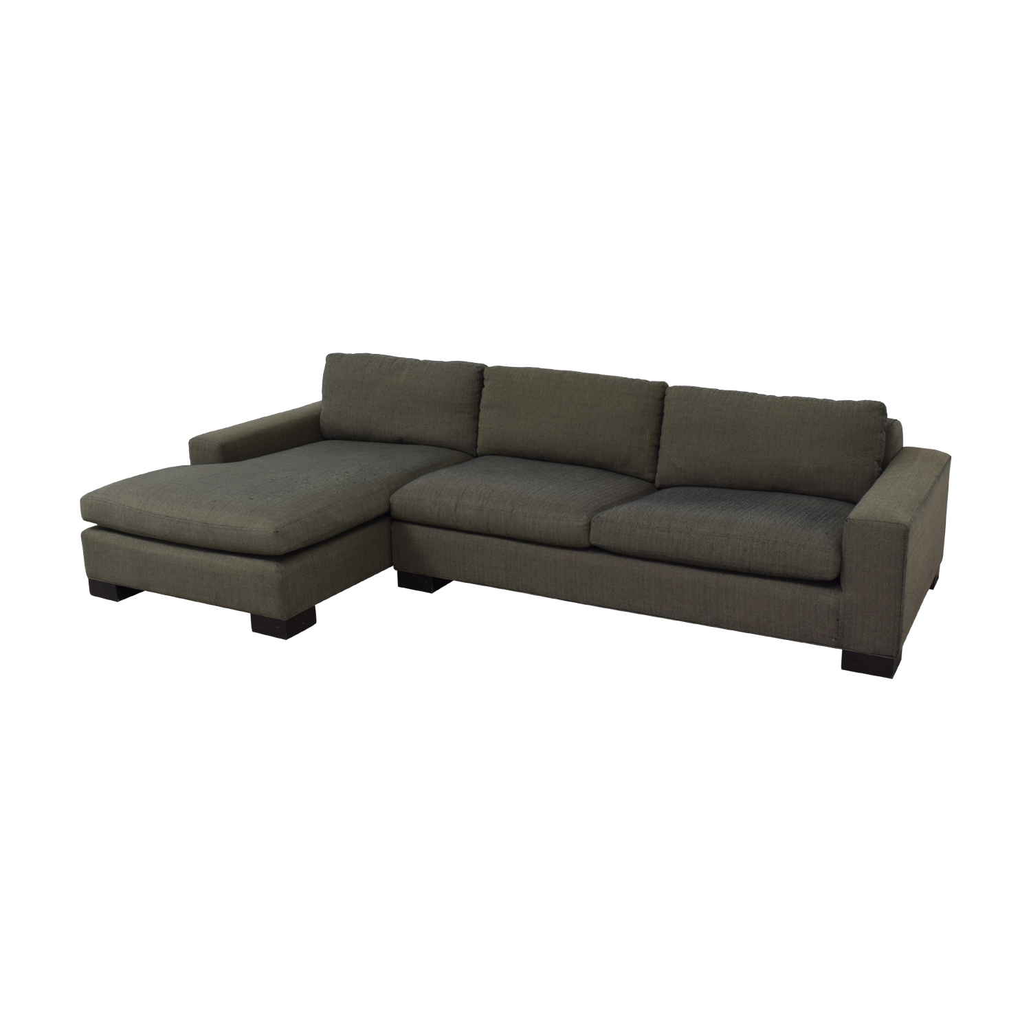 Room & Board Room & Board Brown Chaise Sectional discount