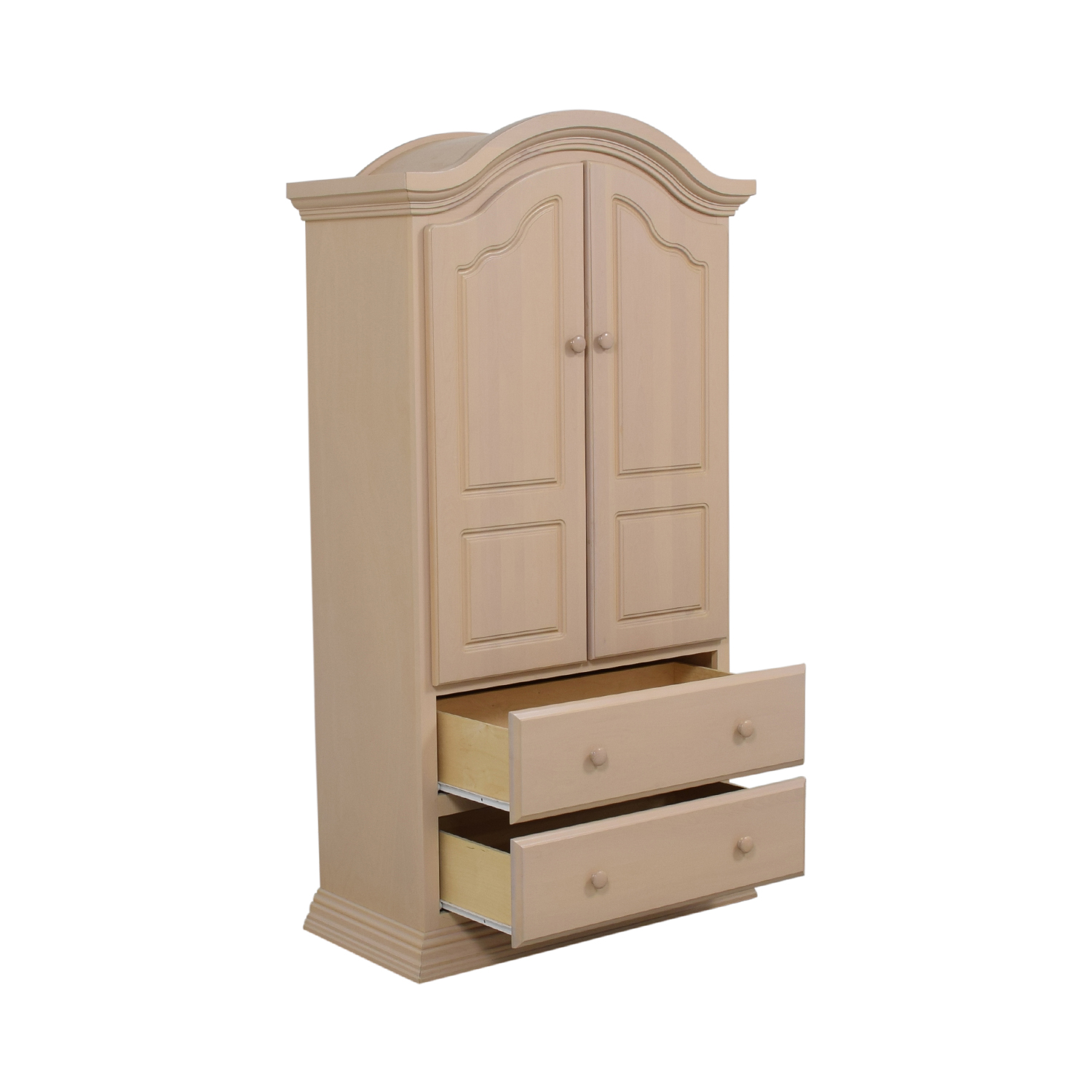 Two-Drawer Clothing Armoire for sale