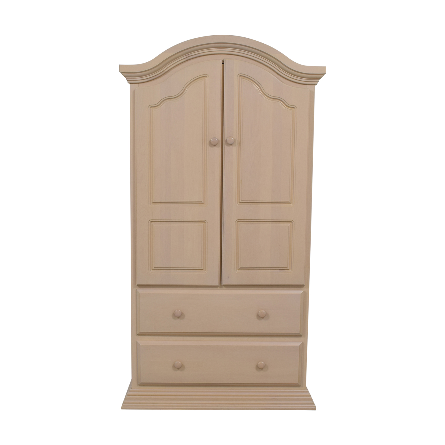 Two Drawer Clothing Armoire Nyc
