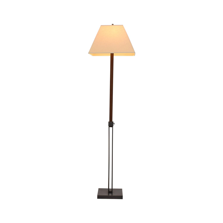 shop Crate & Barrel Extendable Table to Floor Lamp Crate & Barrel Decor