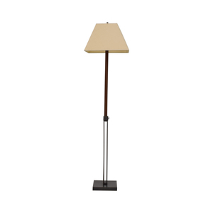 Crate & Barrel Crate & Barrel Extendable Table to Floor Lamp for sale