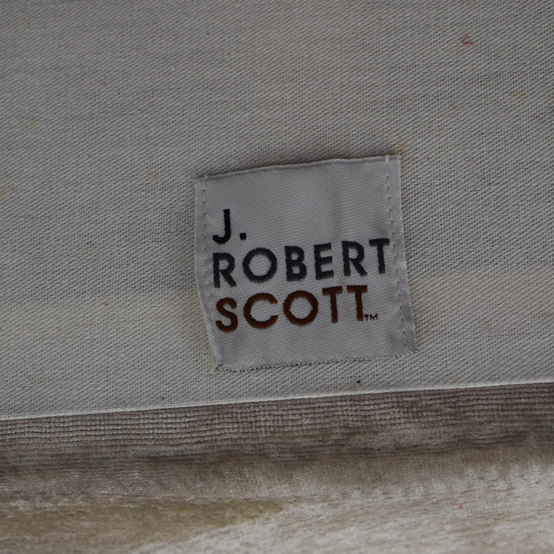 J Robert Scott J Robert Scott Beige Brushed Velvet Loveseat price