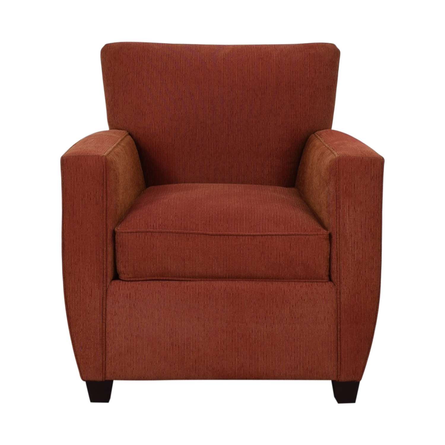 Crate & Barrel Crate & Barrel Chili Red Accent Chair Chili Red