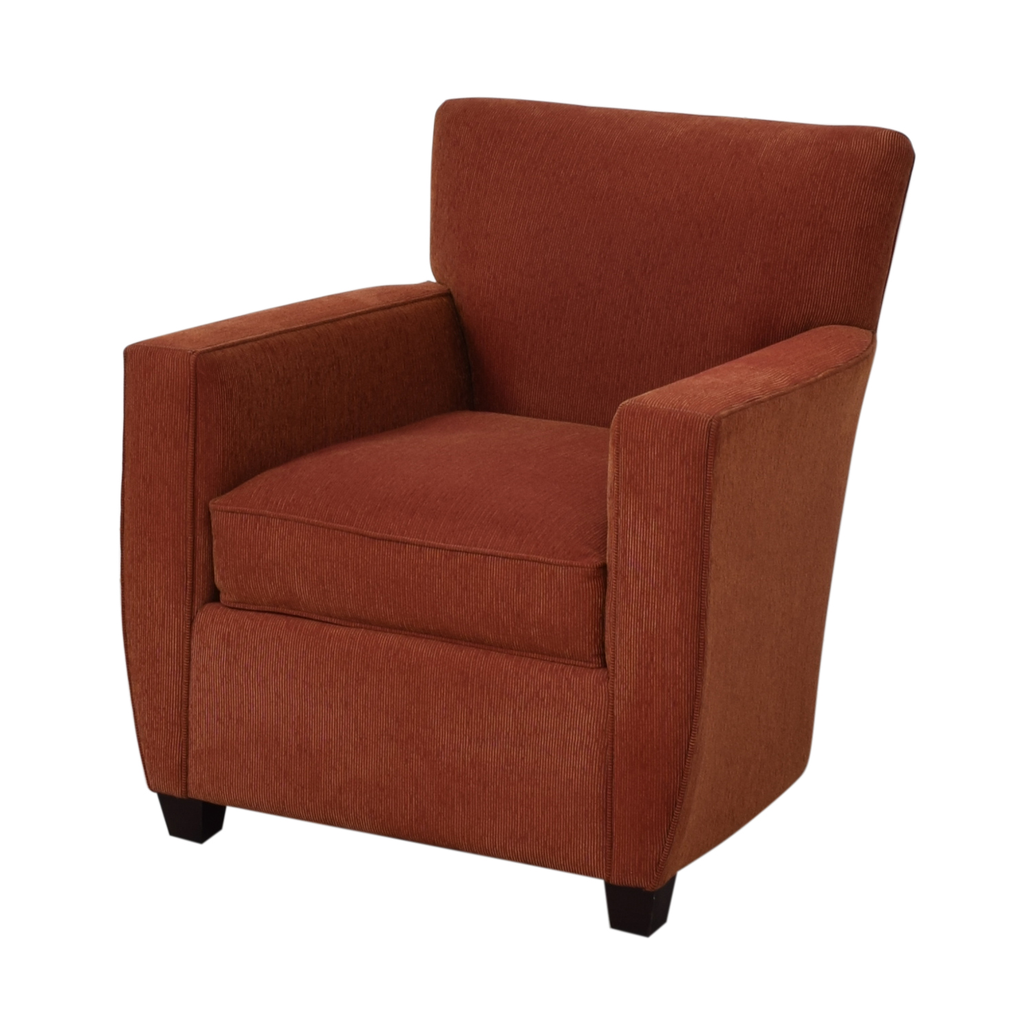 Crate & Barrel Crate & Barrel Chili Red Accent Chair nyc