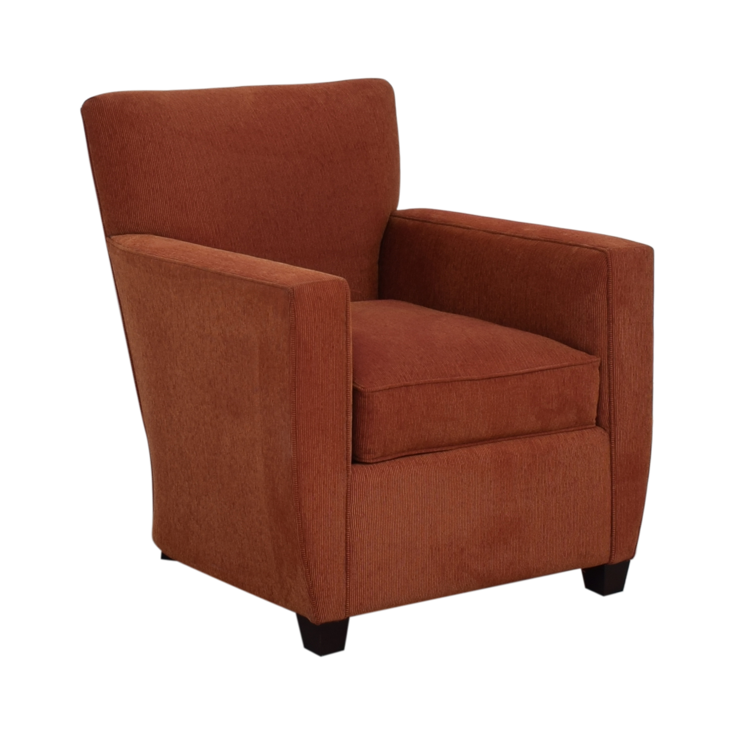 Crate & Barrel Chili Red Accent Chair Crate & Barrel