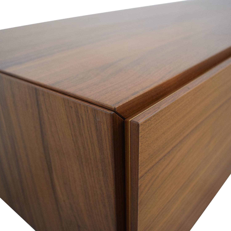Crate & Barrel Crate & Barrel Floor Level Media Stand used