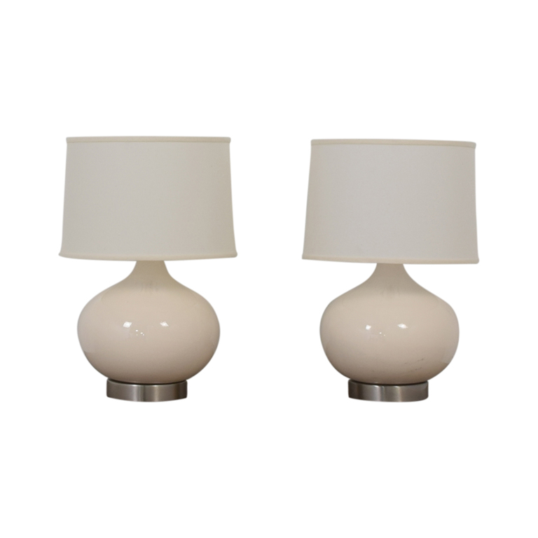Crate & Barrel Crate & Barrel Table Lamp Set dimensions