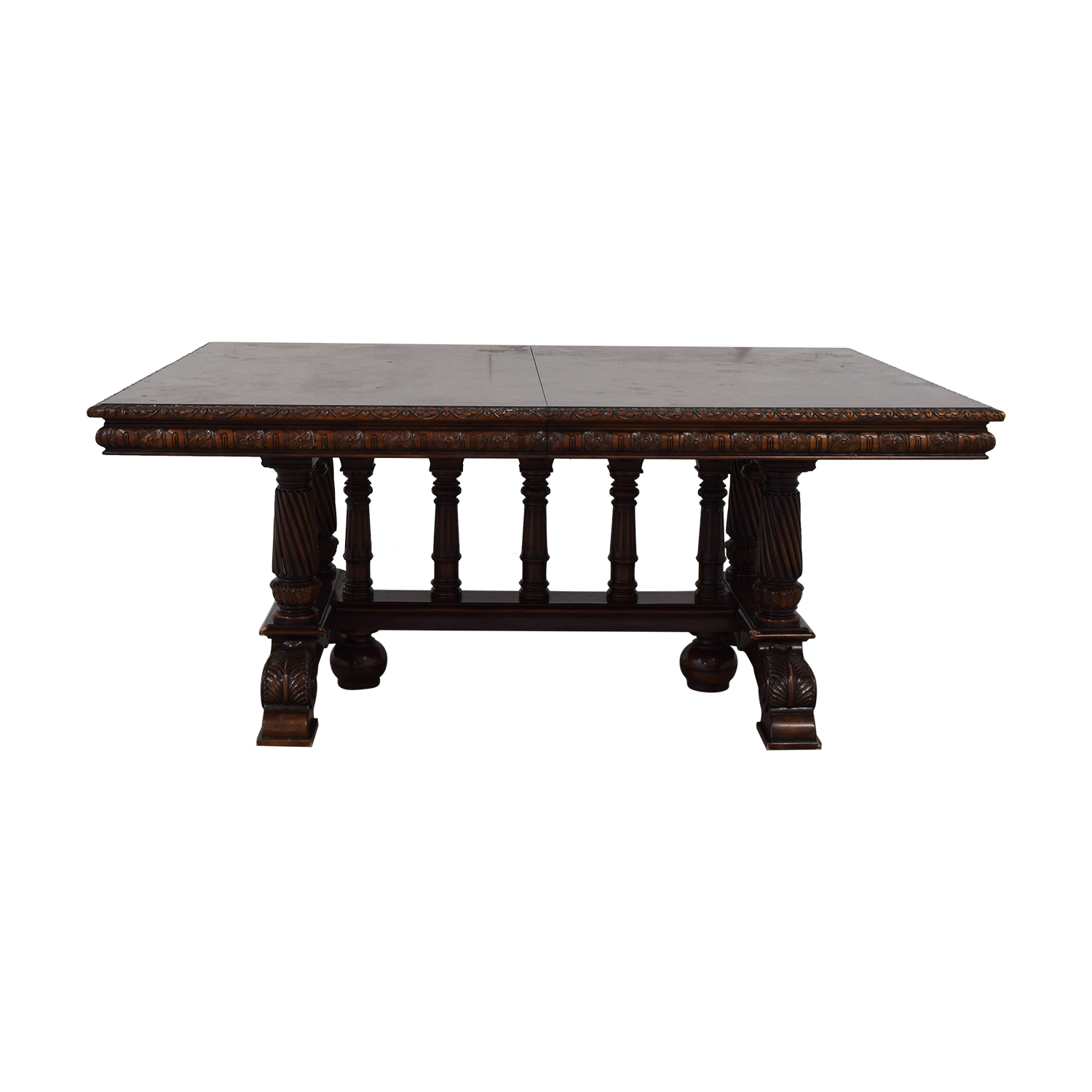 ABC Carpet & Home ABC Carpet & Home Extendable Dining Table Brown