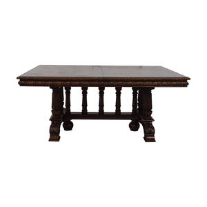 ABC Carpet & Home ABC Carpet & Home Extendable Dining Table dimensions