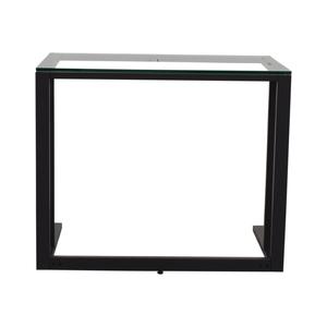 Black and Glass Desk sale