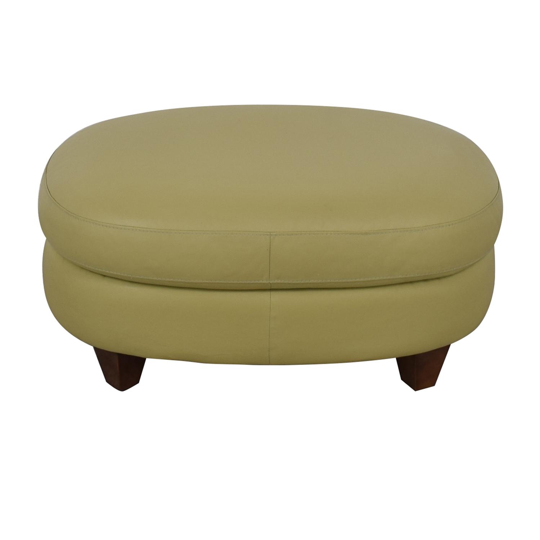 shop Macy's Oval Beige Ottoman Macy's Chairs