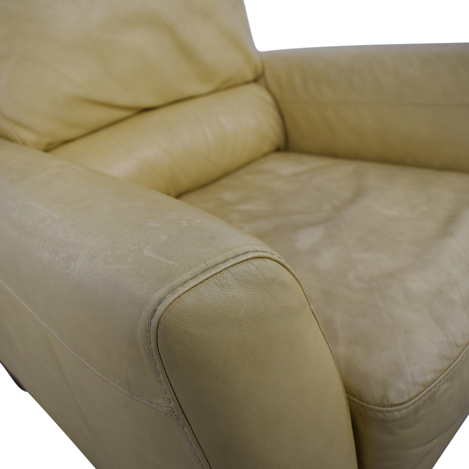 Macy's Macy's Mustard Yellow Recliner for sale