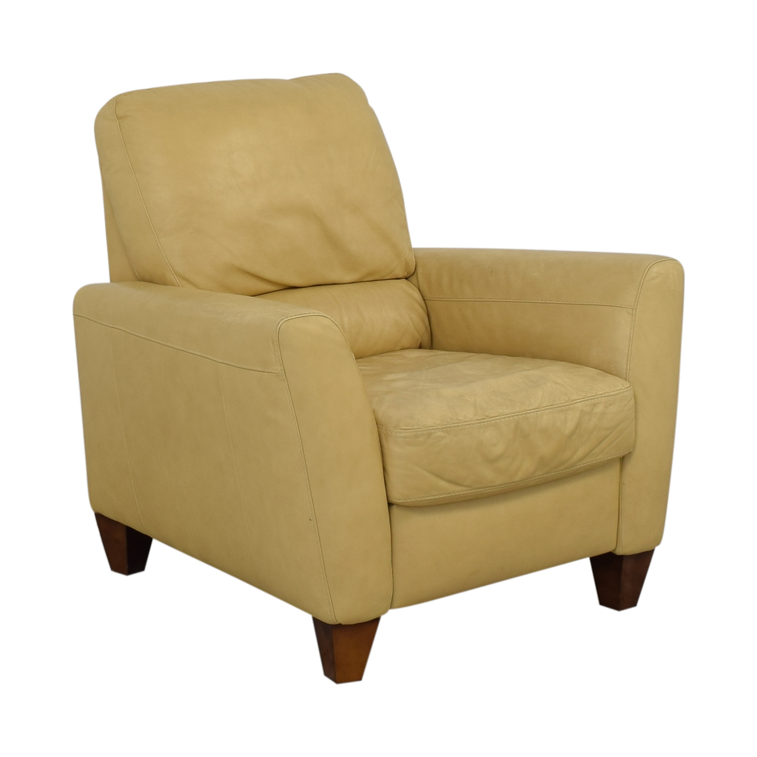 buy Macy's Mustard Yellow Recliner Macy's Chairs