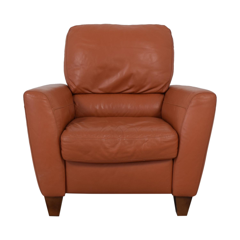 Macy's Macy's Cognac Recliner Chairs