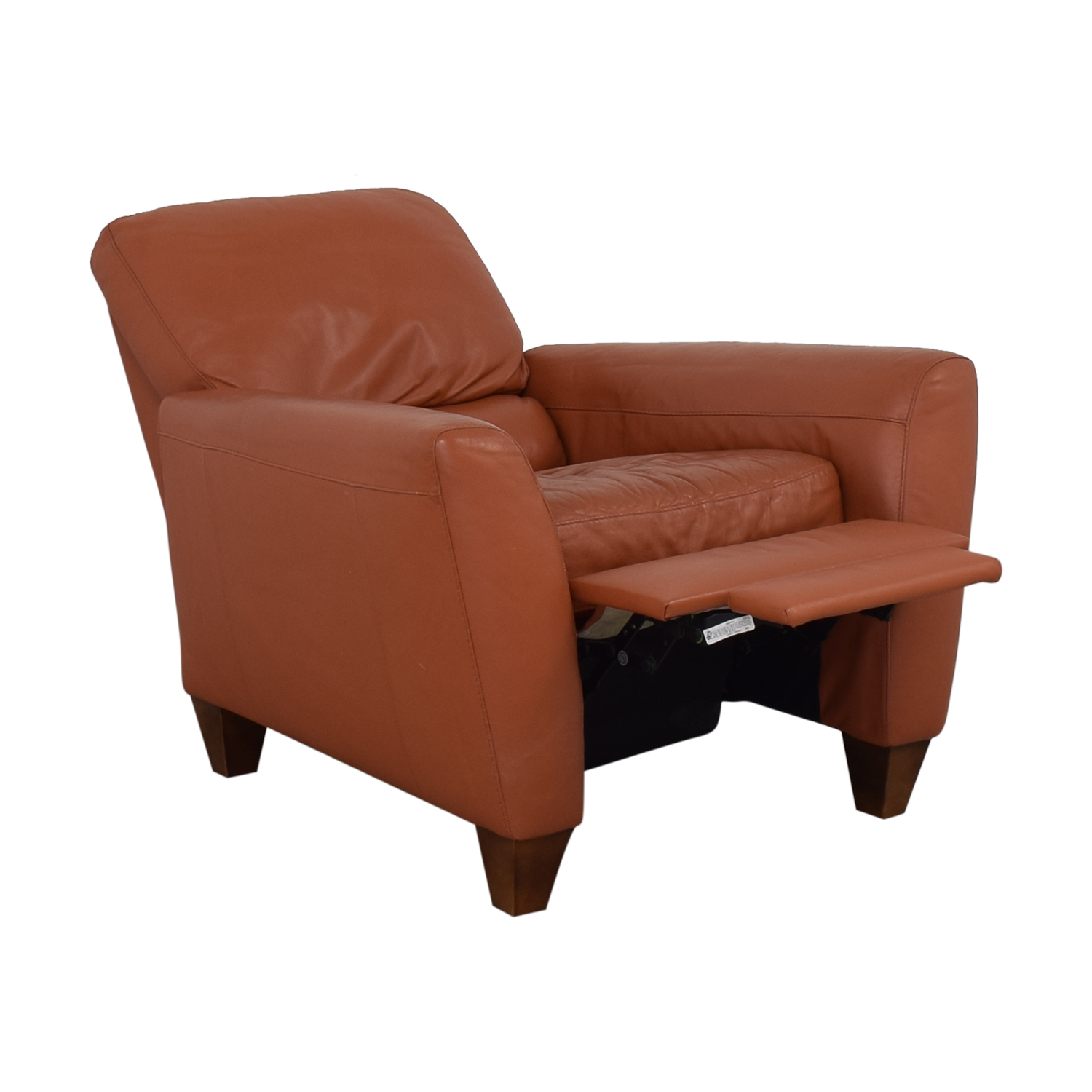 buy Macy's Cognac Recliner Macy's Chairs