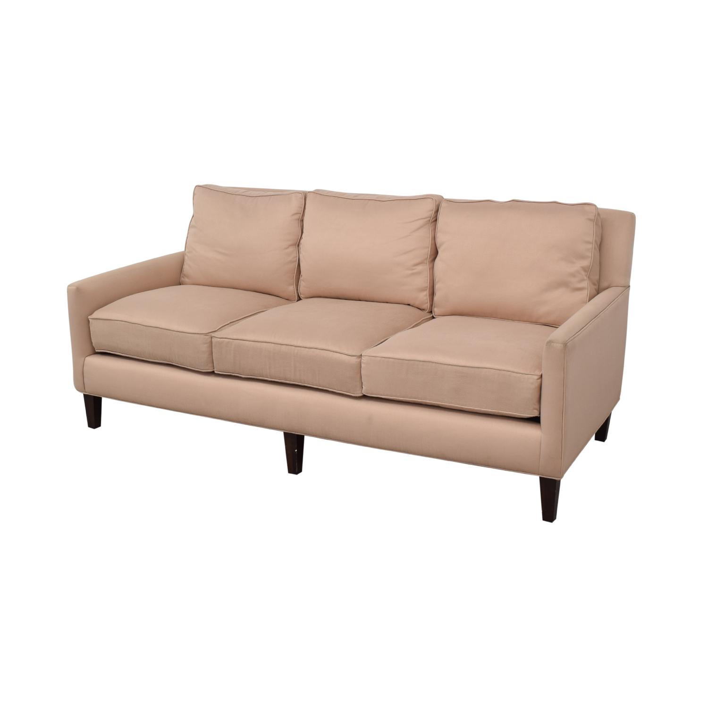 shop Thomasville Highlife Three-Seat Sofa Thomasville Classic Sofas