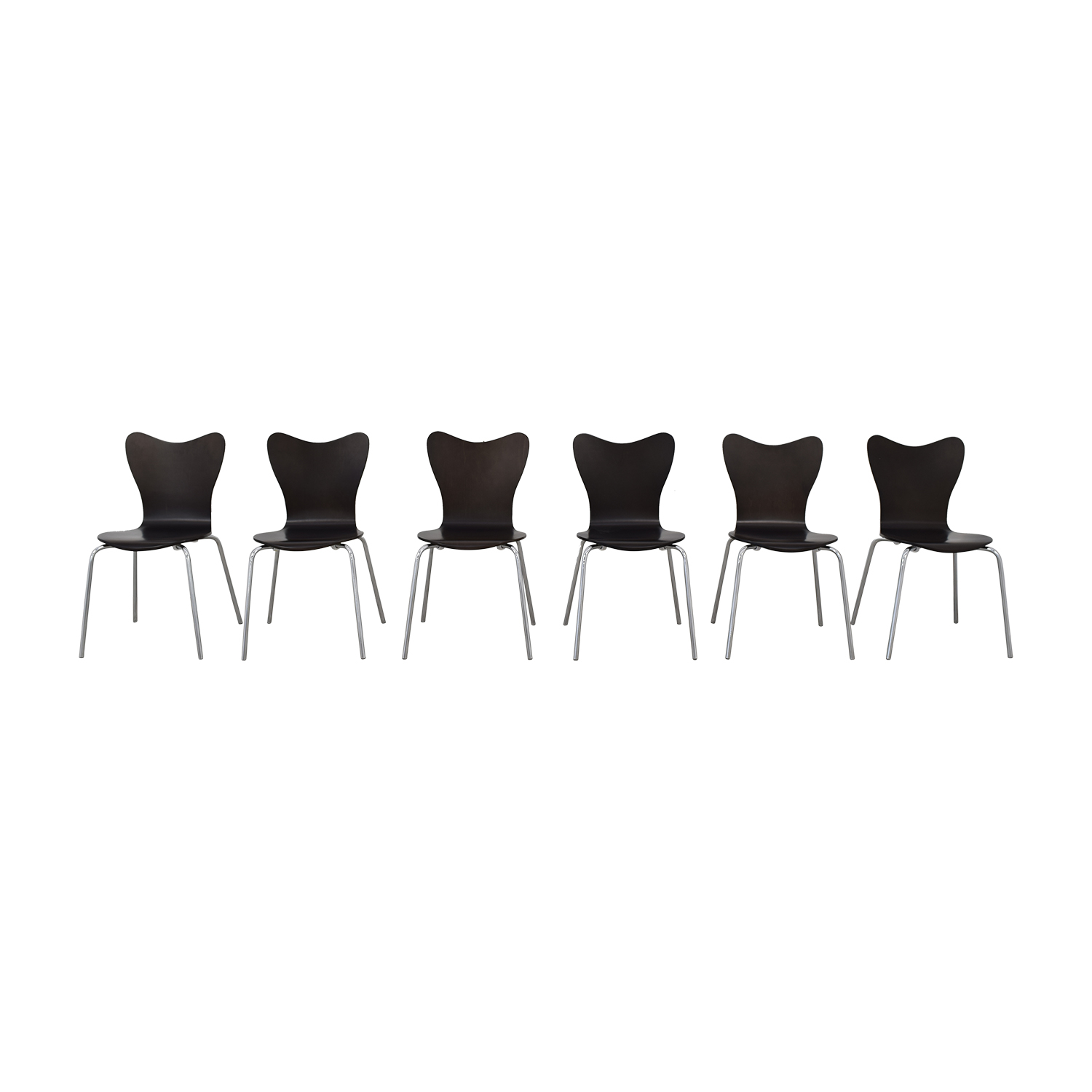 West Elm West Elm Scoop Back Dining Chairs on sale